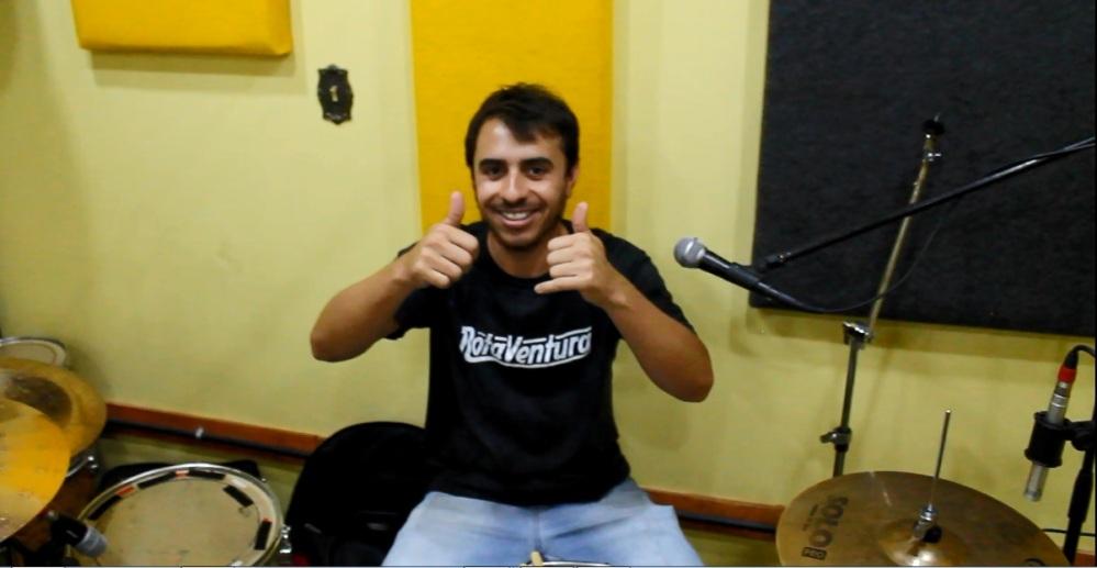 Rota Ventura Bandas Independentes Rock Nacional Victor Batera Baterista
