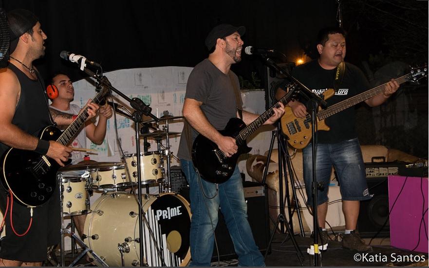banda autoral independente Rota Ventura no Sarau da Esquina