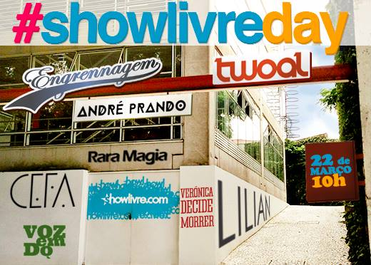 ShowLivreDay bandas autorais novos sons